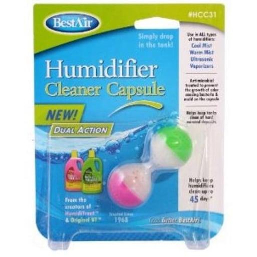 BestAir HCC31 Dual Action Humidifier Cleaner Capsule