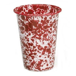 Crow Canyon D93RM Tumbler, 3 Oz, Red Marble