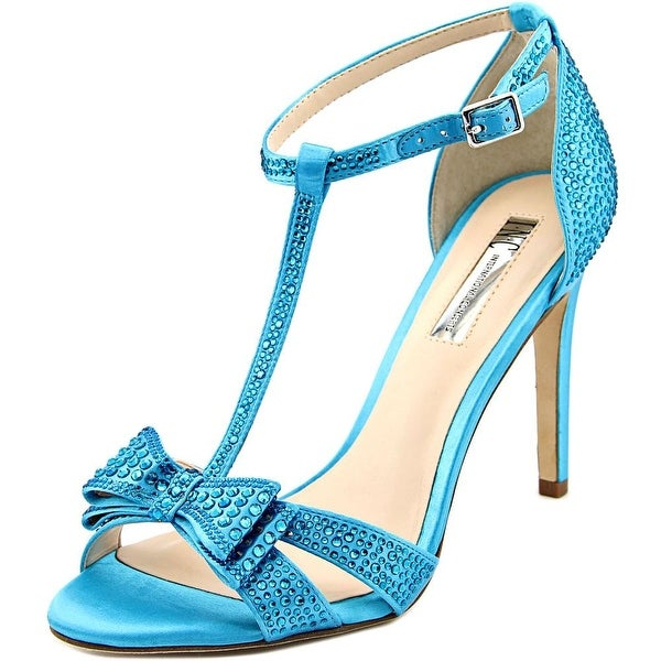 INC International Concepts Reesie 2 Women Bright Aqua Sandals
