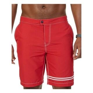 Nautica Mens Athletic Shorts Quick Dry Striped