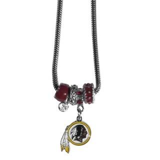 Washington Redskins Necklace Euro Bead Style