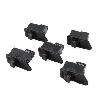 5 Pcs Black 3 Terminal Motorcycle Turn Signal Light Switch For GY6 125 DC 12 24V