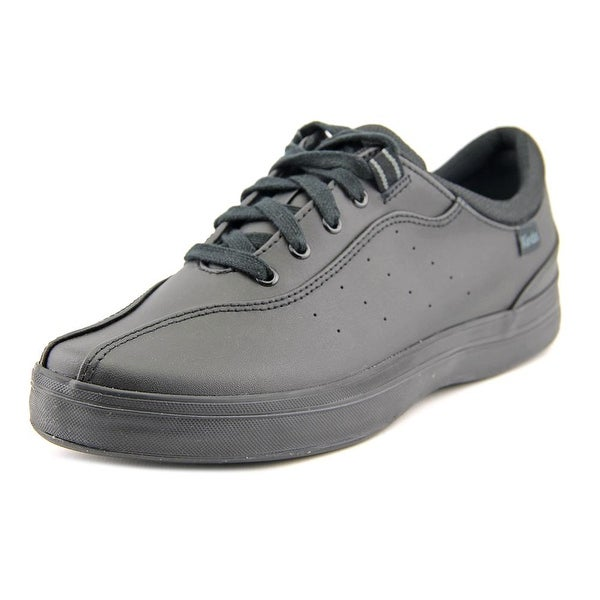 Keds Black Leather Tennis Shoes