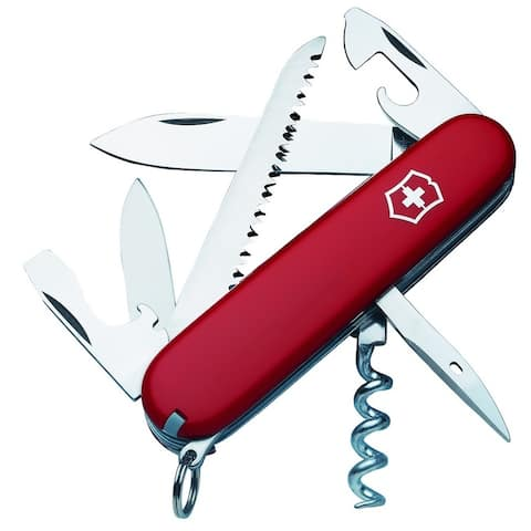 Victorinox Swiss Army Camper Pocket Knife - 3 1/2""