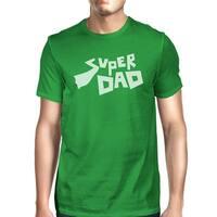 Super Dad Men's Cotton Short Sleeve Top Best Birthday Gifts For Dad