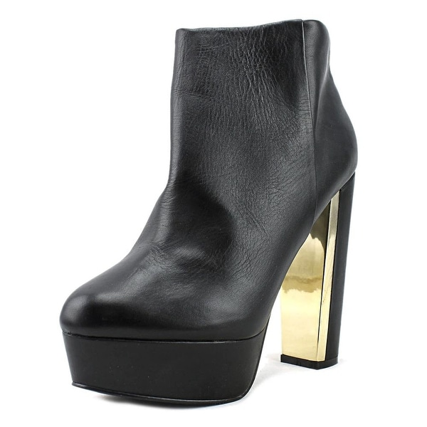 Aldo Girlan Open Toe Leather Platform Heel