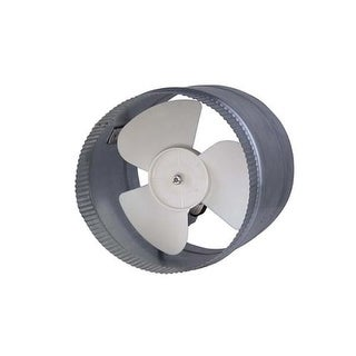 Canarm DA8S 500 CFM 2.8 Sone In-Line Boosted Duct Exhaust Fan