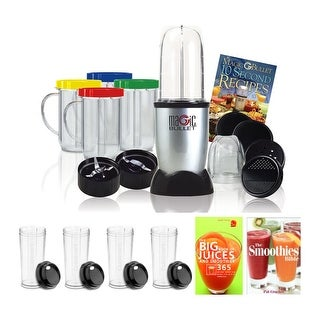 Link to Magic Bullet MBR-1701 17-Piece Express Mixing Set w/Travel Cups Bundle Similar Items in Kitchen Appliances