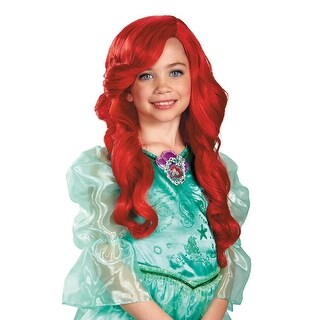 Disguise Ariel Child Wig - Red