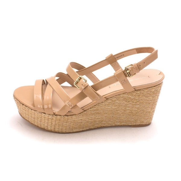 Via Spiga Womens Harmon Open Toe Casual Platform Sandals - 7.5