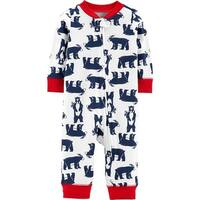 Carter's Baby Boys' Zip Up Sleep and Play, Blue Bears, 9 Months - 9 Months