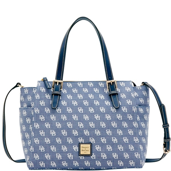 1eb72a885 Dooney & Bourke Madison Signature Ryder (Introduced by Dooney &  Bourke at $268