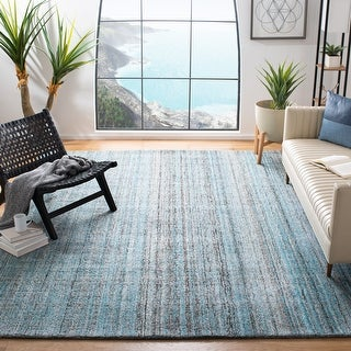 Link to Safavieh Handmade Abstract Nettie Modern Viscose Rug Similar Items in Transitional Rugs