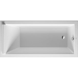 "Duravit 700336000000090  Starck 66-7/8"" Acrylic Soaking Bathtub for Drop-In Installations with Rev - White"