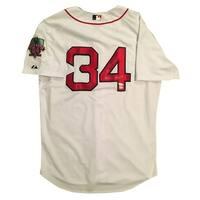 David Ortiz Autographed Red Sox Signed Baseball Jersey 3 x World Series Champs Fanatics COA
