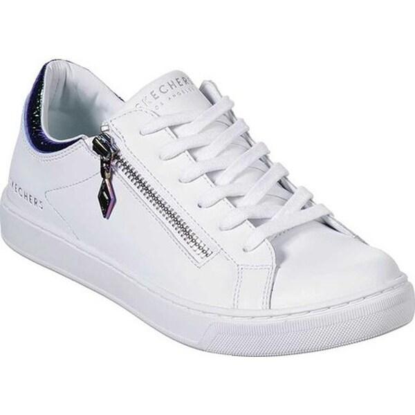 Shop Skechers Women's Prima Zip Siders Sneaker White