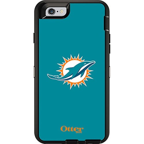 OtterBox Defender Case for Apple iPhone 6/6S - NFL Miami Dolphins