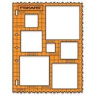 "Shape Template 8.5""X11""-Squares"