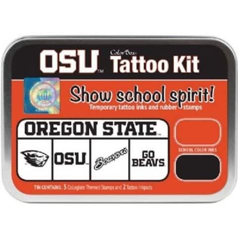 Clearsnap CS19607 Oregon State University Collegiate Tattoo Kit