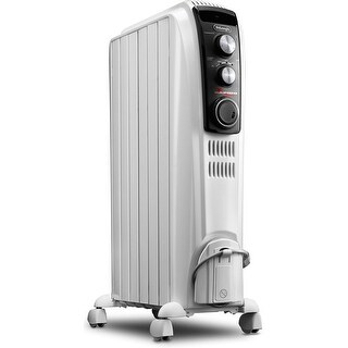 DeLonghi TRD40615T High Performance Radiant Heater with Mechanical Controls - White