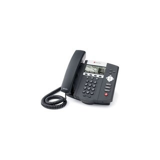 Refurbished Polycom 2200-12450-025 SoundPoint IP 450 3-Line VoIP Phone (PoE),Without Power Supply