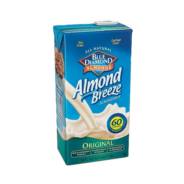 Almond Breeze Original Almond Breeze - Case of 8 - 64 fl oz
