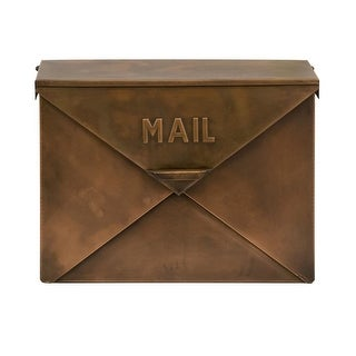 IMAX Home 44090 Tauba Copper Finish Mail Box