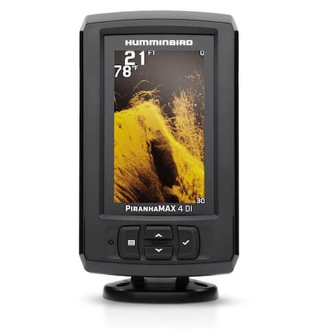 Humminbird 410160-1 PiranhaMax 4 DI Fishfinder w/ Down Imaging Sonar