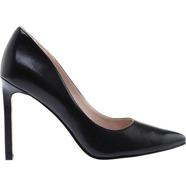 Nine West Women's Tatiana Black Leather