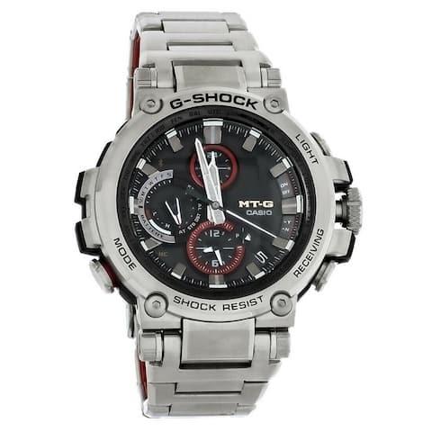 Casio Men's MTGB1000D-1A 'G-Shock' Stainless Steel Watch - Black