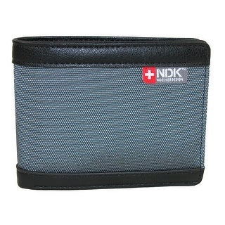 NDK Men's RFID Protected Bifold Wallet - One size (Option: Shale)