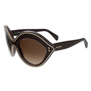 Valentino V689S 642 Rubin Almond Valentino Sunglasses