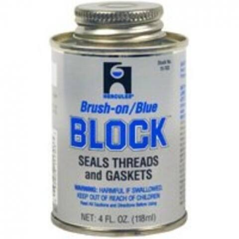 Hercules 15703 Pipe Thread Sealant Block Putty, 1/4 Pt