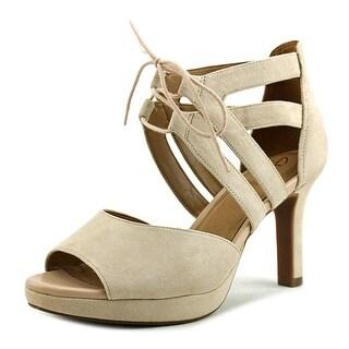 Clarks Mayra Ellie   Open Toe Suede  Sandals
