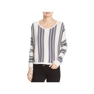 Splendid Womens Bayside Crop Sweater Wool Blend Striped (3 options available)