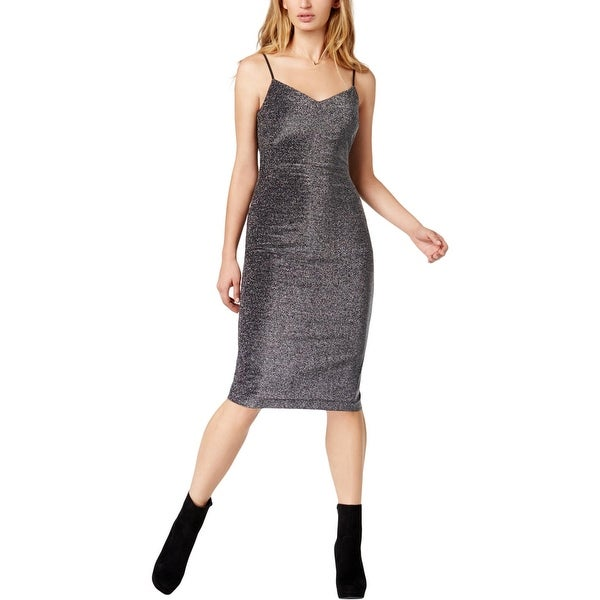 5b68055303fbf Shop 1.State Womens Cocktail Dress Metallic Slip - Free Shipping On ...