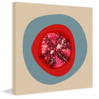 Marmont Hill September Pomegranate Irena Orlov Painting Print on Canvas
