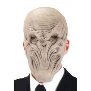 Doctor Who The Silence Adult Costume EVA Half Mask - gray