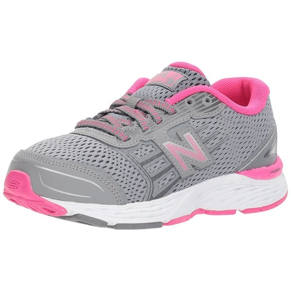 New Balance Womens kr680ssy Low Top Lace Up Running Sneaker - 7