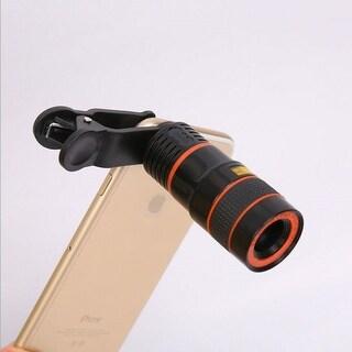 Universal Clip-on Telescope Lens (8x Optical Zoom) for Smart Phones