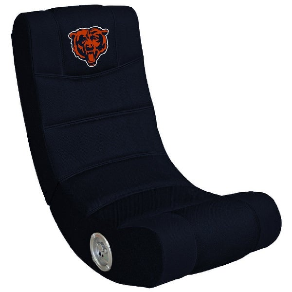 Video Gaming Chair W/Bluetooth - NFL- Chicago Bears
