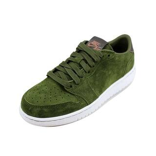 buy popular 2b893 30064 Nike Grade-School Air Jordan I 1 Retro Low NS HC Legion Green/Metallic