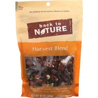 Back To Nature Nuts - Harvest Blend - 10 oz - case of 9