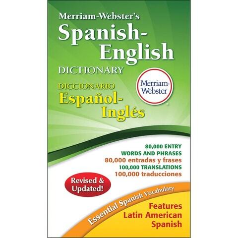 Merriam Websters Spanish-English