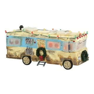 "Department 56 National Lampoon's Christmas Vacation ""Cousin Eddie's RV"" Ceramic Accessory #4030734"