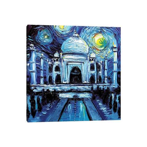 "iCanvas ""Van Gogh Never Saw Taj Mahal"" by Aja Trier Canvas Print"