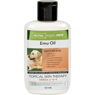 Nutra Origin - Liquid Emu Oil For Pets ( 1 - 4 FZ)