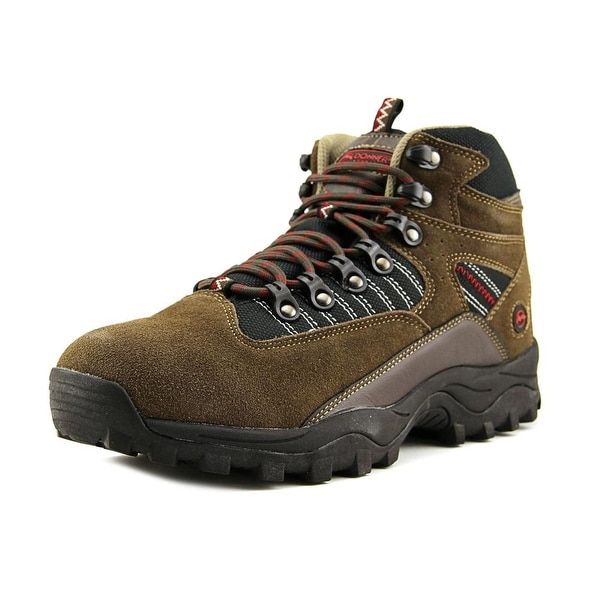 Donner Mountain Danny Men Brn/Bk/Rd Hiking Trail Boots