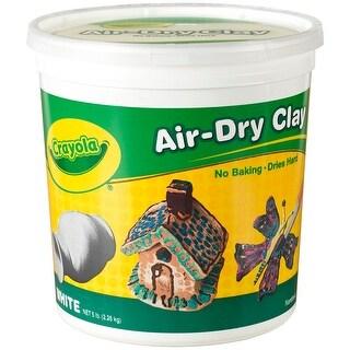 Crayola Air-Dry Clay 5lb-White - White