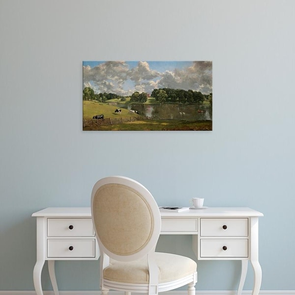 Easy Art Prints 's 'Wivenhoe Park, Essex, 18165' Premium Canvas Art